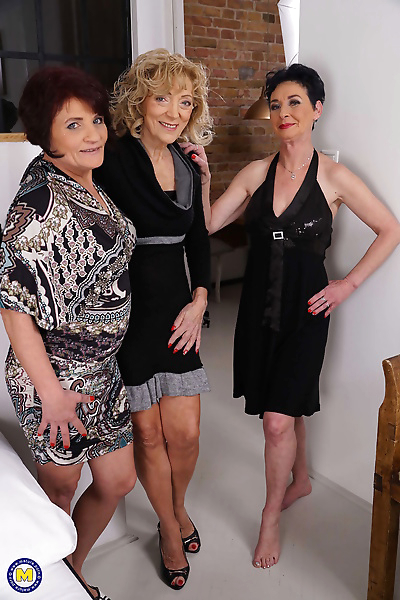 Three naughty mature ladies..