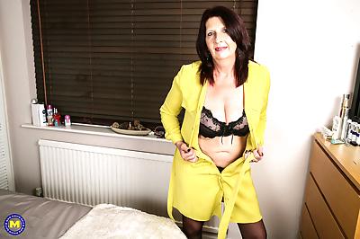 Naughty british older lady..