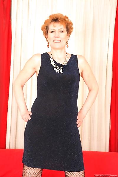 Redhead granny Georgina T..