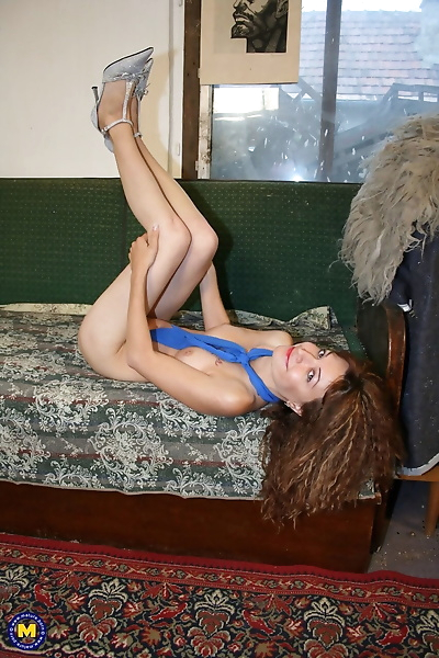 Slutty Russian woman with..