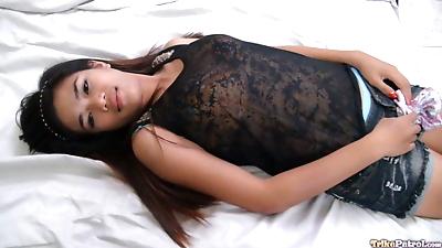 Brunette Filipina babe..