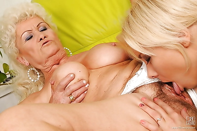 Naughty granny Effie and..
