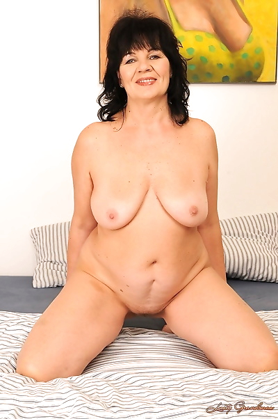 Saggy titted granny Helena..