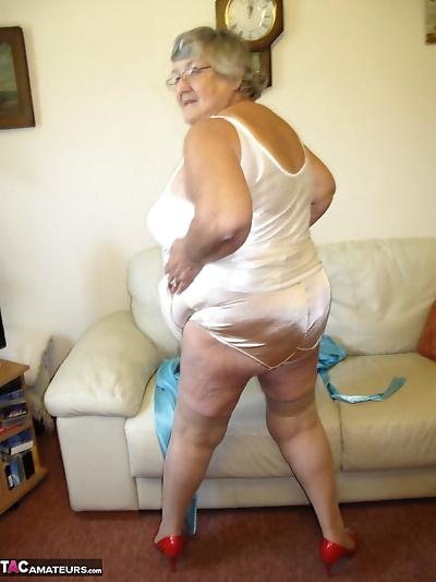 Brazen horny granny Grandma..