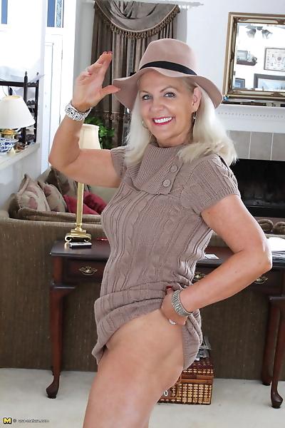 Clothed American granny..