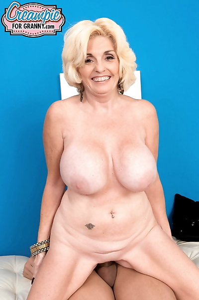 Huge titted granny Missy..
