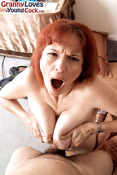 Redheaded grandma Angie..