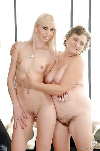 Teenage lesbian has some..