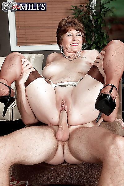 Big boobed granny Bea..