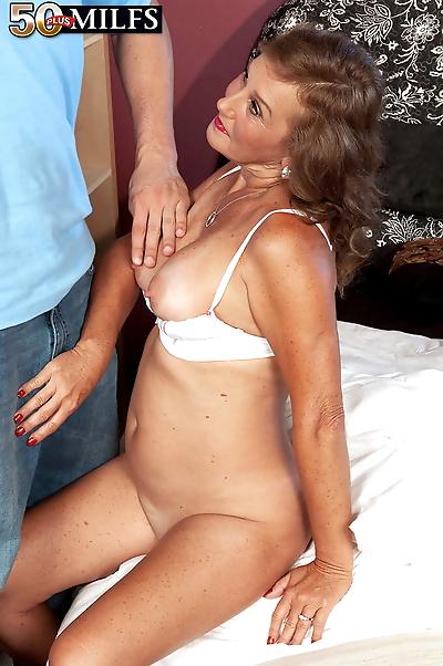 Over 50 woman Trisha greets..