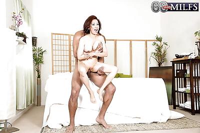 Asian gran Kim Anh giving..