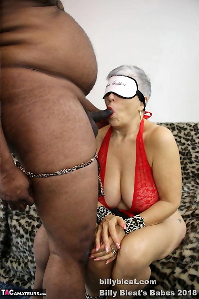 Handcuffed and blindfolded..