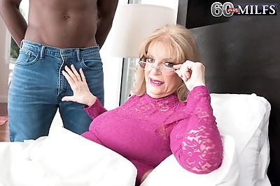 Big boobed grandmother..