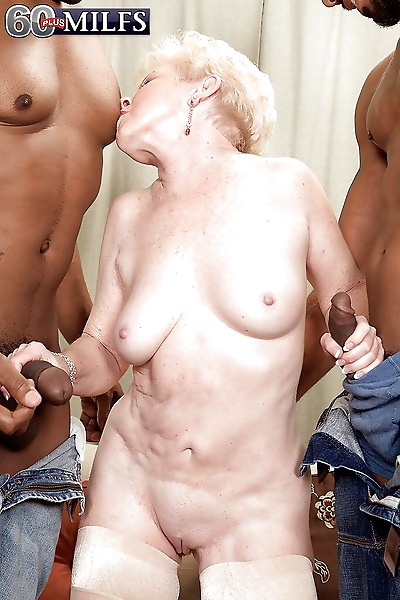 Slutty granny Jewel is into..