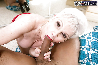 Hose attired granny Jewel..