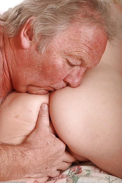 Horny senior citizen..