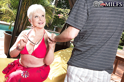 66 year old jewel and her 34..