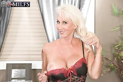 Sexy granny in lingerie..