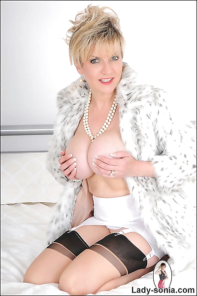 Girdle and nylons mature..