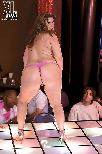 Chubby babes teasing in big..