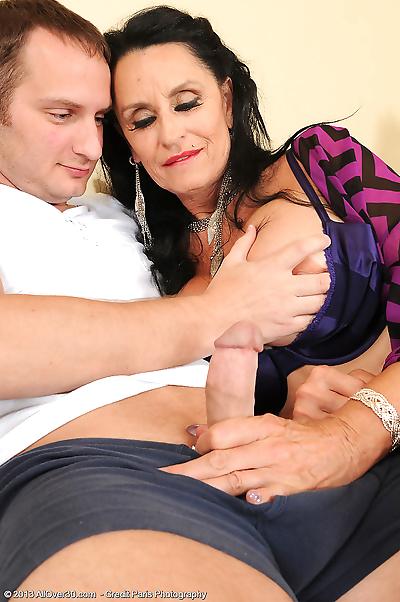 Older mature Rita Daniels..