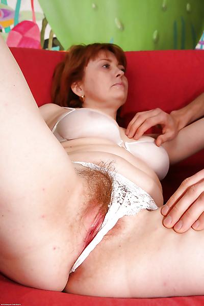 Nasty mature redhead..
