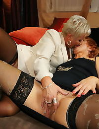 A very six hot fucking mature in special orgy party with one boy - part 747