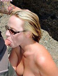 Sexy slut bj in public - part 695